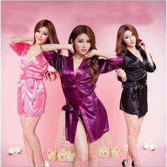 LONGNIGHT - Velvet Robe Set