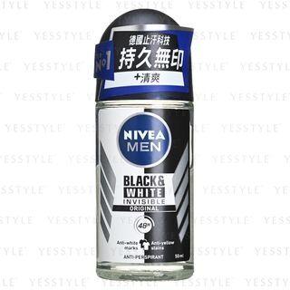 NIVEA - Men Black & White Invisible Roll On 50ml