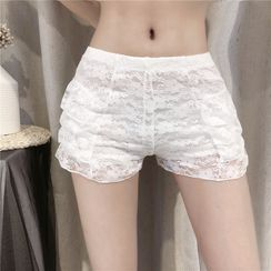 NENE - Lace Boy Shorts