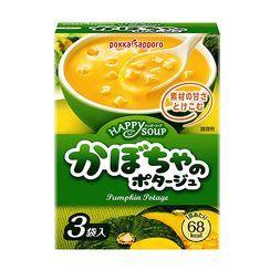 ZEZZUP - Pokka Sapporo 即冲忌廉南瓜汤 (3包装)