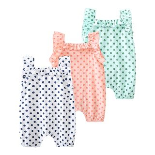 MOM Kiss - Baby Polka Dot One-Piece