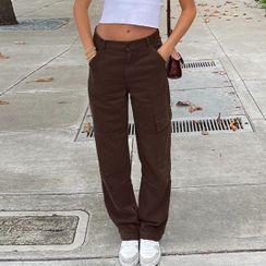 Sosana - Low-Waist Cargo Pants