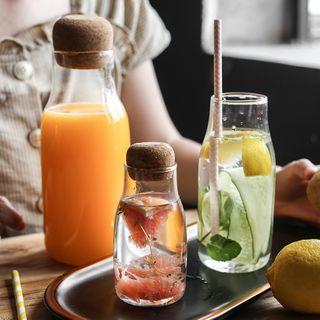 ZACK STORY - Glass Drinking Bottle