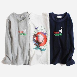 Happy Go Lucky - Kids Printed Sweatshirt