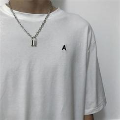 MELLO - Lock Pendant Chain Necklace