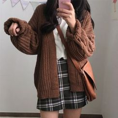 MIKIGA - Cable Knit Cardigan