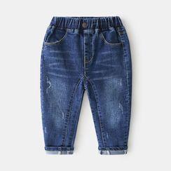 贝壳童装 - 儿童哈伦牛仔裤