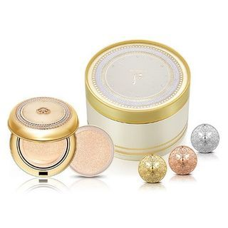 The History of Whoo - Gongjinhyang Mi Luxury Golden Cushion Royal Triple Gold Edition #21 Special Set
