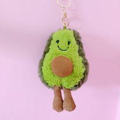 Hello minto - Fleece Avocado Keyring