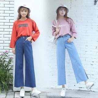 Denimot - Wide Leg Jeans