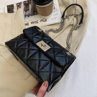 Studio Sophista - Quilted Faux Leather Shoulder Bag