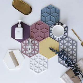EPIRUS - Perforated Hexagon Coaster