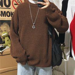 Lorencho - 情侣款纯色毛衣