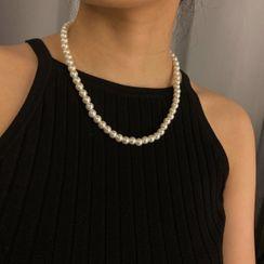 Seirios - Faux Pearl Necklace