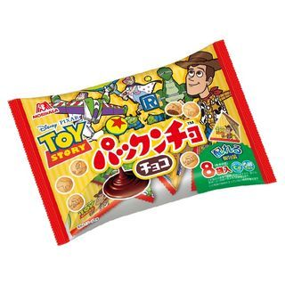 Morinaga - Toy Story Chocolate Flavor Filled Biscuit Family Pack (Pack of 8)