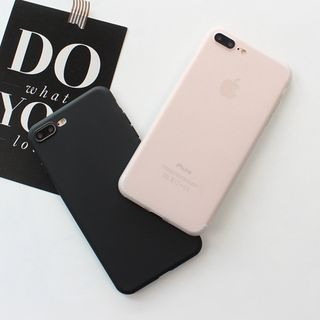 Homap - Matte Mobile Phone Case - Apple iPhone 6 / 6 Plus / 7 / 7 Plus / X / Xs / Xr / XsMax