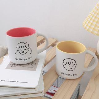Michu - Couple Matching Cartoon Print Ceramic Mug