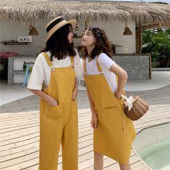 Baseris - Mini A-Line Jumper Dress / Pants