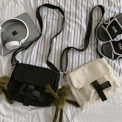 BANGGIRL - Mini Canvas Messenger Bag