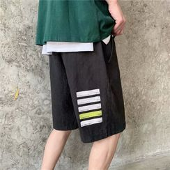 DuckleBeam - Printed Straight-Fit Shorts