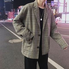 Bjorn - Plaid Blazer
