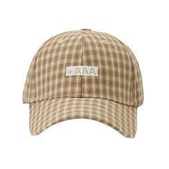 HARPY - 刺繡字母格子棒球帽