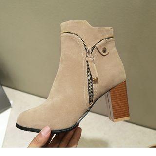 Cinnabelle - Block-Heel Ankle Boots