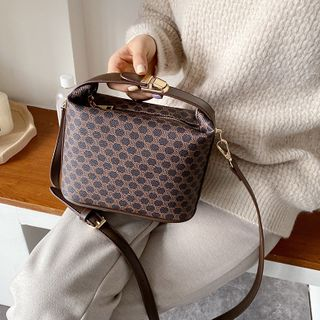 NewTown - Faux Leather Crossbody Bag