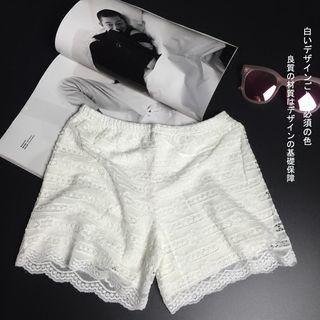 Kally Kay - Lace Under Shorts