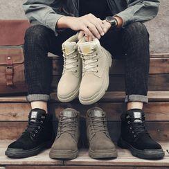 MARTUCCI - Faux Leather Short Boots