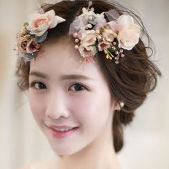 Neostar - Wedding Flower Hair Clip Set