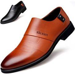 WeWolf - Faux Leather Hidden Heel Dress Shoes