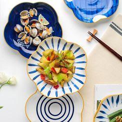 Kawa Simaya - Flower Ceramic Plate