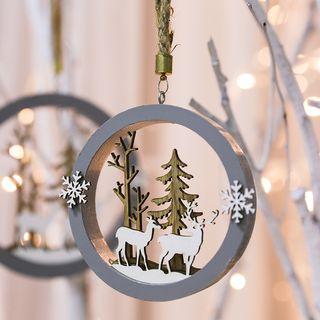Cloud Forest - 木製聖誕掛飾擺設