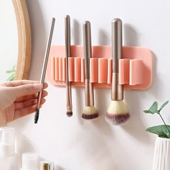 KIizzi - Makeup Brush Adhesive Wall Organizer - 7 Colors