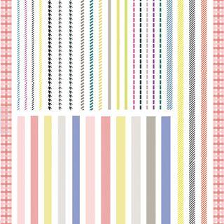 MAGICO - Striped Nail Sticker