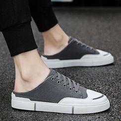 JACIN - Canvas Sneaker Mules