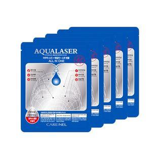 CARE:NEL - Aqualaser Hydrogel Brightening Mask Set 5pcs