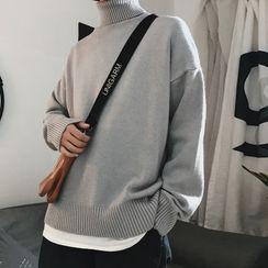 Bay Go Mall - Turtleneck Sweater