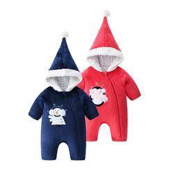 MOM Kiss - 嬰兒聖誕老人連身裙