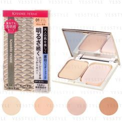 ISEHAN - Kiss Me Ferme Cover & Bright Skin Powder Foundation SPF 30 PA+++ - 4 Types