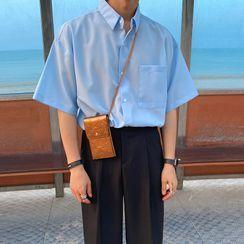 MRCYC - Short-Sleeve Plain Shirt