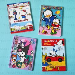 Sanrio - A5 Spiral Notebook 1 pc - 20 Types