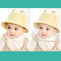 Allium - Babies Print Bucket Hat with Detachable Face Shield