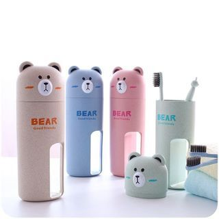 Chimi Chimi - Animal Travel Toothbrush Set