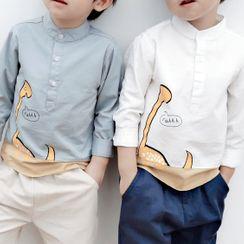 DEARIE - 小童印花襯衫