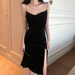 ever after - Slited Sleeveless Dress