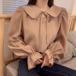 Rhodo - 蝴蝶結飾襯衫