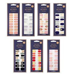 The Saem - Nail Wear Big Parts Gel Sticker Set - 7 Types