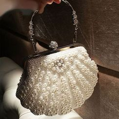 LOLIBOX(ロリボックス) - Faux Pearl Evening Clutch